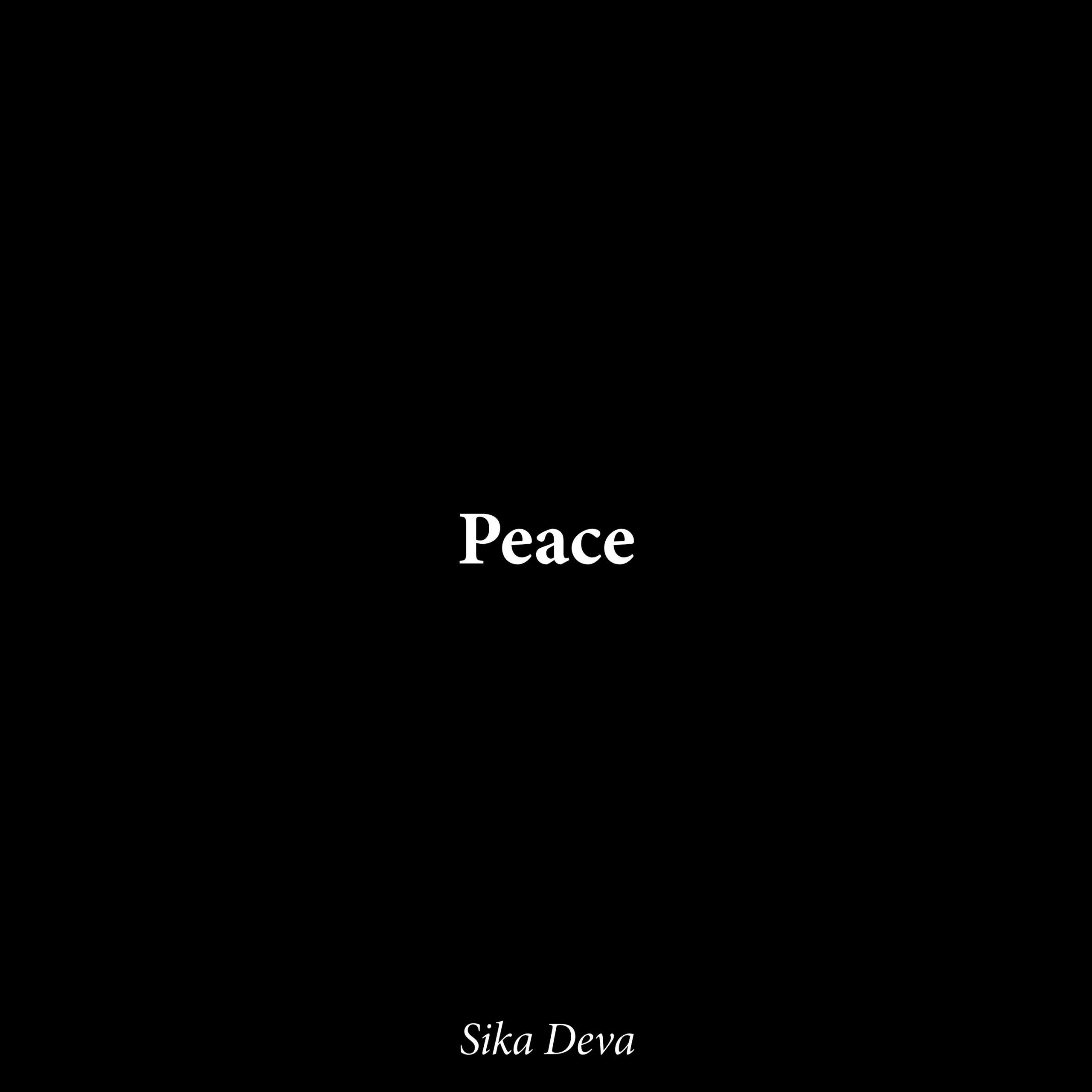 Pochette-peace-sikadeva